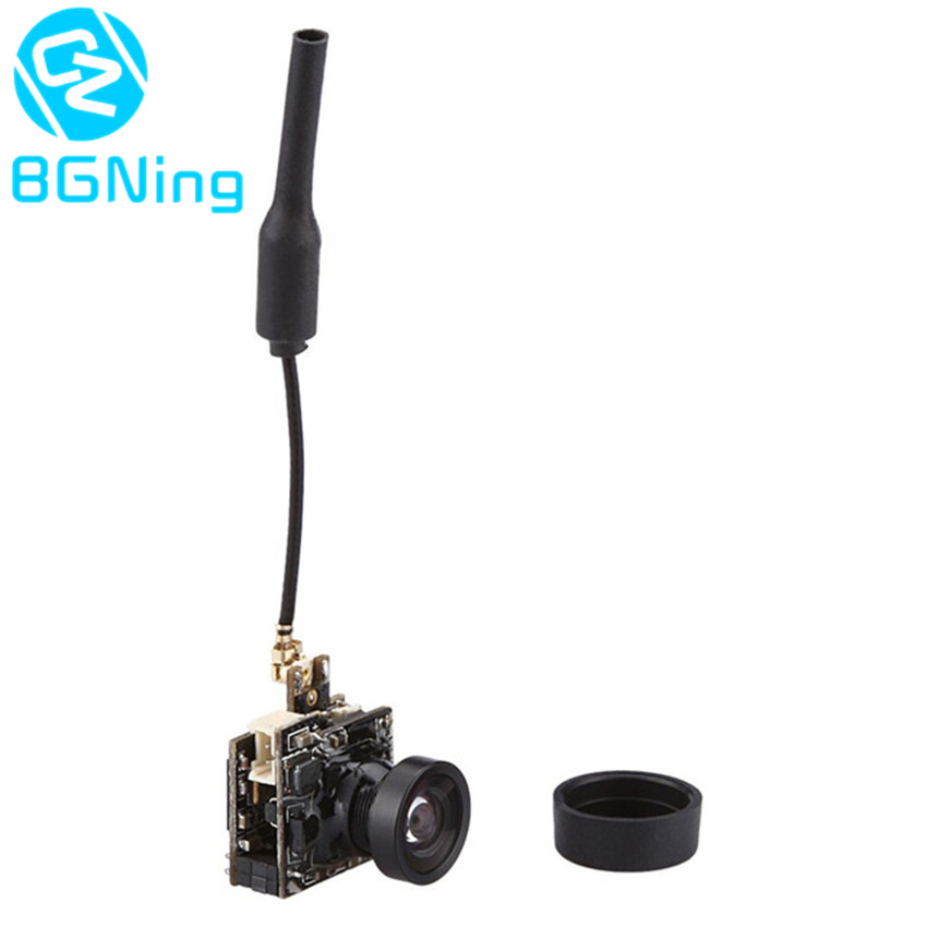 Mini 40CH 25MW 5.8G FPV Transmission Camera with <font><b>M8</b></font> 800TVL <font><b>Lens</b></font> LST-S2 for Indoor Racing Drone Transmitter FPV Racer Accessory image