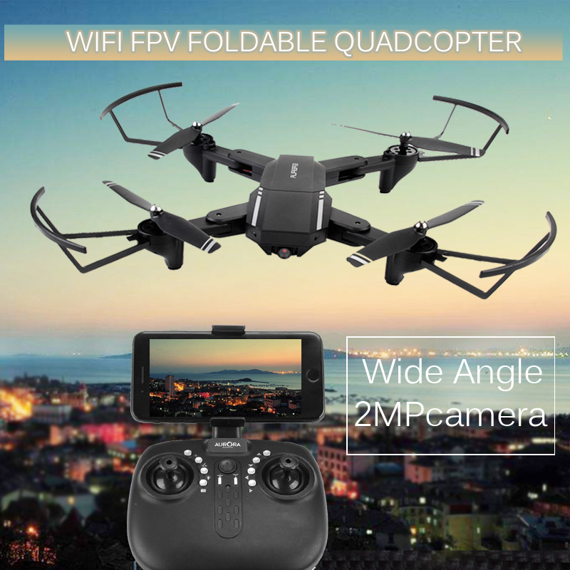 In Stock RC Drones with camera HD WIFI FPV Quadcopter Foldable 2.4G 6 Axis RC Helicopter Toys VS XS809W Drone цена