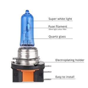 Image 3 - 2 stuks Auto Auto H15 Super Wit Halogeen Lampen 12V 15/55W 6000K Hoge dimlicht koplamp Lamp Lampen Lichten Auto Lighte sourcing