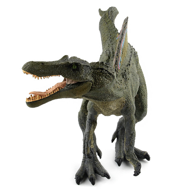 Jurassic Dinosaur Figures Fallen World Kingdom Park 2 3 5 3D Simulation Spinosaurus Model Plastic Classic Collection Kids Toy