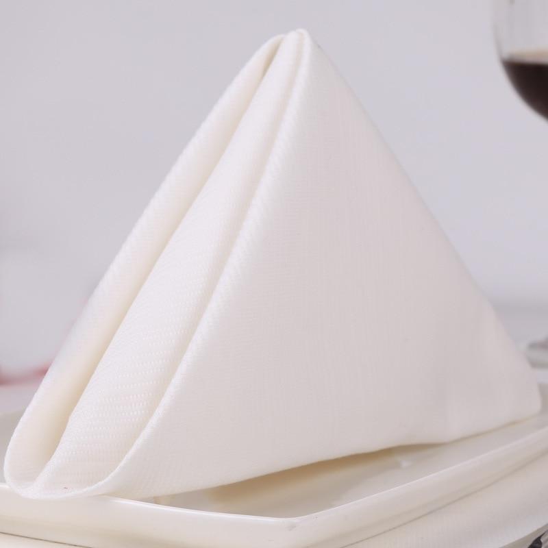 1 Dozen 20 Oversized Cloth Dinner Table Napkins -Machine Washable Restaurant/Wedding/Hotel Quality Cotton Fabric - white