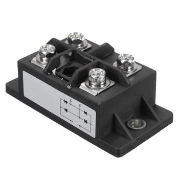 1PC czarny 150A Amp 1600V MDQ150A jednofazowy diodowy mostek prostowniczy moduł zasilania prostowniki elektroniczne komponenty i materiały eksploatacyjne tanie i dobre opinie TMOEC CN (pochodzenie) other