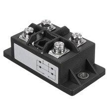 1PC czarny 150A Amp 1600V MDQ150A jednofazowy diodowy mostek prostowniczy moduł zasilania prostowniki elektroniczne komponenty i materiały eksploatacyjne