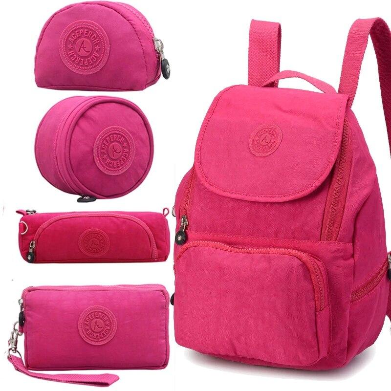 ACEPERCH femmes Original Escolar sac à dos fille étanche en Nylon sac à dos dame sacs à dos sac de voyage décontracté Mochila Infantil Menina