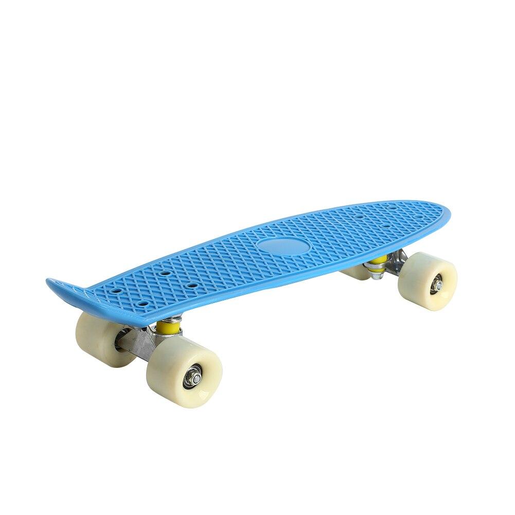 Planche à roulettes simple de plate-forme de planche à roulettes de Hoverboard de Longboard de culbuteur de Pp Sports extrêmes durables planche à roulettes de quatre roues pratique