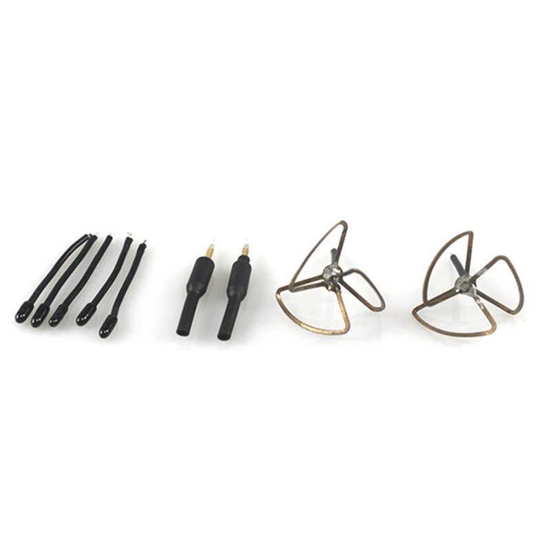 New Arrival TURBOWING 5.8GHz 3dBi 3 Leaf Clover/Copper Tube Gain Super Mini FPV Antenna Combo RC Spare Parts hot sell leadingstar quadrocopter h501s enhanced fpv frame distance 5 8ghz 14dbi high gain panel antenna 2 4ghz 3dbi antenna kit