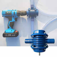 Electric Drill Water Pump Heavy Duty Self-Priming Hand Ultra Auto-Absorption Home Garden Centrifugal Pump