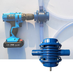 Image 1 - Elektrische Boor Waterpomp Zware Zelfaanzuigende Hand Ultra Auto Absorptie Huis Tuin Centrifugaalpomp Water Absorberen door Centri