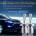 H1 H3 H7 H8 H9 H11 9005 HB3 9006 HB4 H4 H13 9004 9007 60W ZES led Chip 8000lm 12V 24V 6000K LED Headlight Kit Light Beam Bulbs