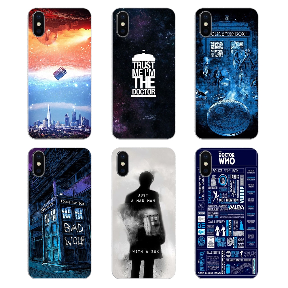 Quality New Fashion Doctor Who Tardis Box Silicone Tpu Soft Phone Cover Case For Huawei Honor 4c 5a 5x 5c 6 Play 6x 6a 6c Pro 7x 8 9 Lite V8 V10 Superior In