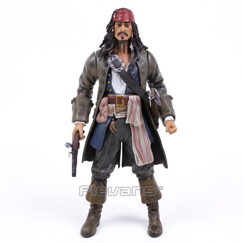 ФОТО Pirates of the Caribbean Captain Jack PVC Action Figure Collectible Model Toy 31cm (no retail box)