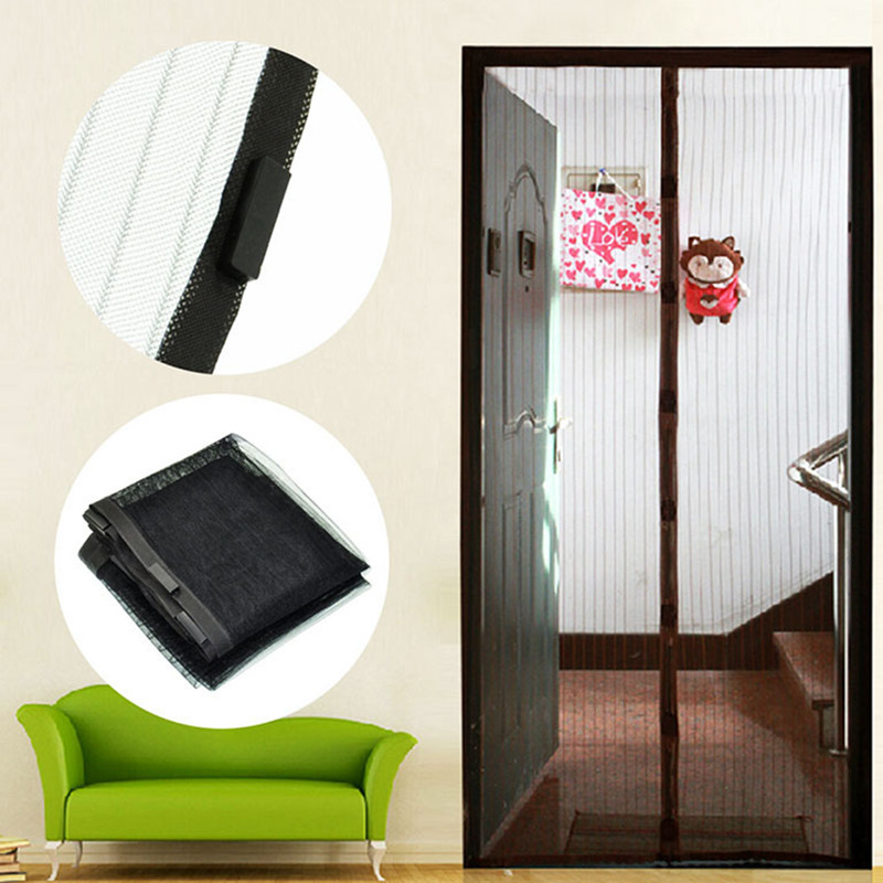 Aliexpress.com : Buy Summer mosquitoes protection magnetic anti mosquito net for door mesh magnetic insect door net magnetic screen door from Reliable ... & Aliexpress.com : Buy Summer mosquitoes protection magnetic anti ... Pezcame.Com