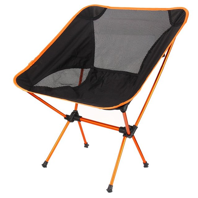 Lightweight Folding Fishing Chair Seat For Outdoor Camping Leisure Picnic Beach Portable 4