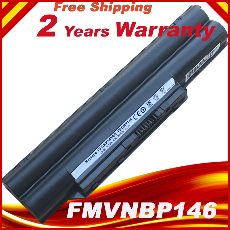 10.8V/11.1V 6 Cells FPCBP325 FPCBP281 FMVNBP198 Battery For Fujitsu Lifebook E751 E752 E782 E8310 L1010 LH700 LH772 P701