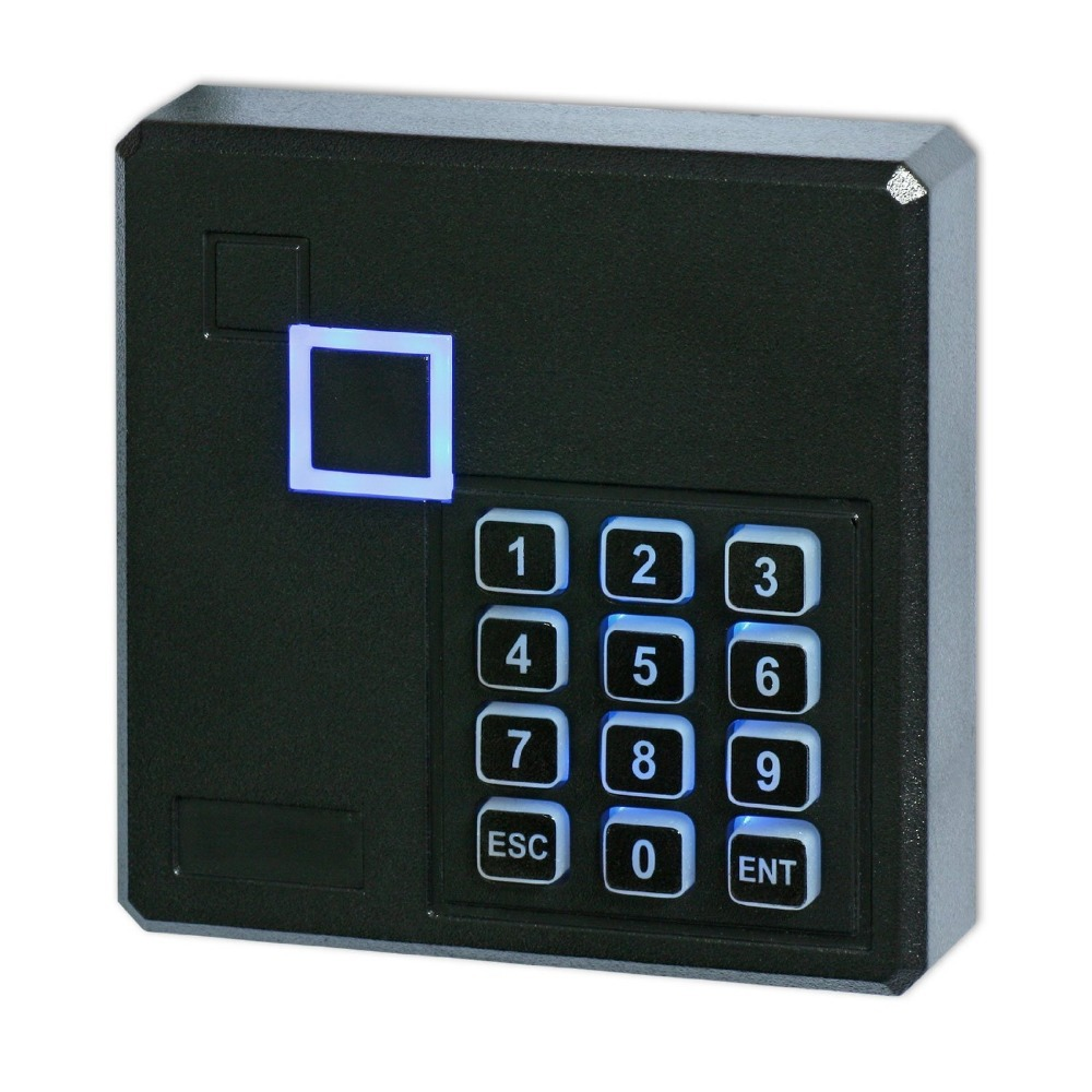 Free shipping 125KHz Wiegand 26/34 Access Control Keypad RFID Reader Color Black wiegand 26 input