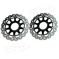 Motorcycle Front Brake Disc Rotors Replacement Parts For Honda CBR954RR 2002 2003 CBR929RR 2000 2001 Pair