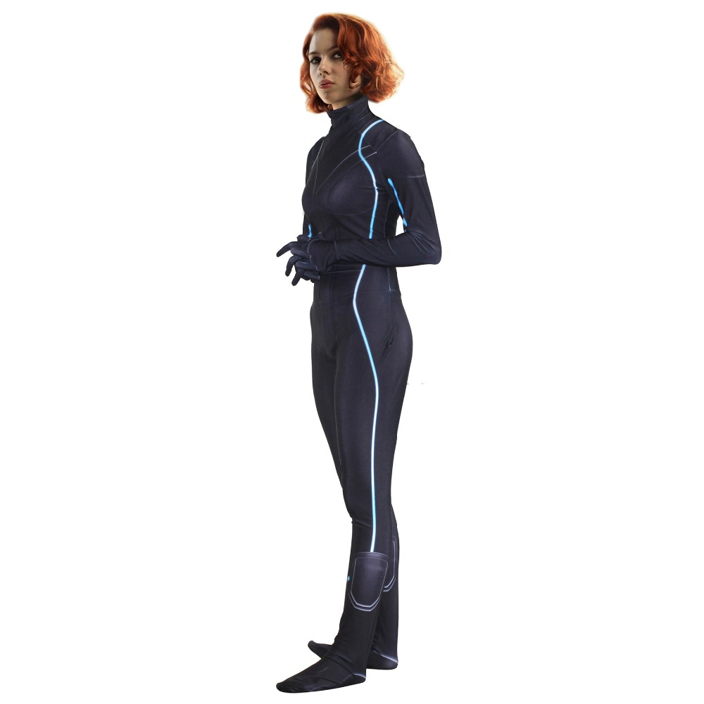Super Agent femme Cosplay siamois collants personnage Halloween fête jouer Costume
