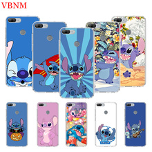 Disneys Stitchs Cute Printing Protect Phone Case for Huawei Honor 8X 8S 7A 9 10 Lite 8A 20i V20 Y5 Y6 Y7 Y9 2019 Cover Coque