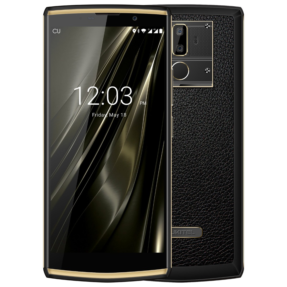Oukitel K7 18:9 affichage complet 6.0 ''FHD téléphone Mobile Android 8.1 4 GB RAM 64 GB ROM MT6750T Octa Core 13MP 10000 mAh 4G Smartphone