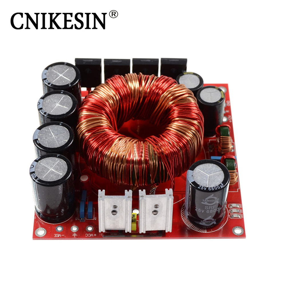 CNIKESIN 500W single DC DC12V positive and negative double DC + 45V boost power supply board adjustable pressure
