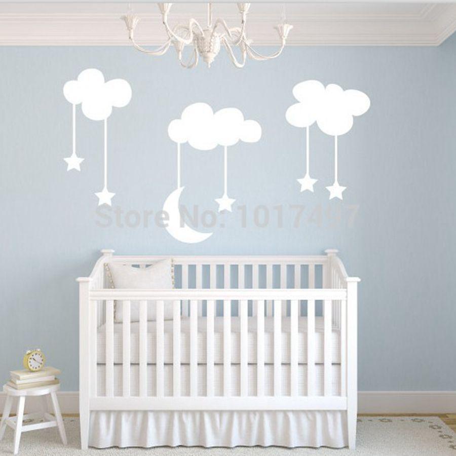 online kopen wholesale baby blauw nursery uit china baby blauw, Deco ideeën