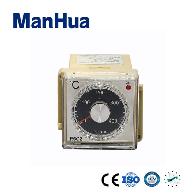Manhua HotSale Product MH-E5C2 Series Temperature Controller Input Electromagnetic Relay Output 220VAC for Industral Smart Home
