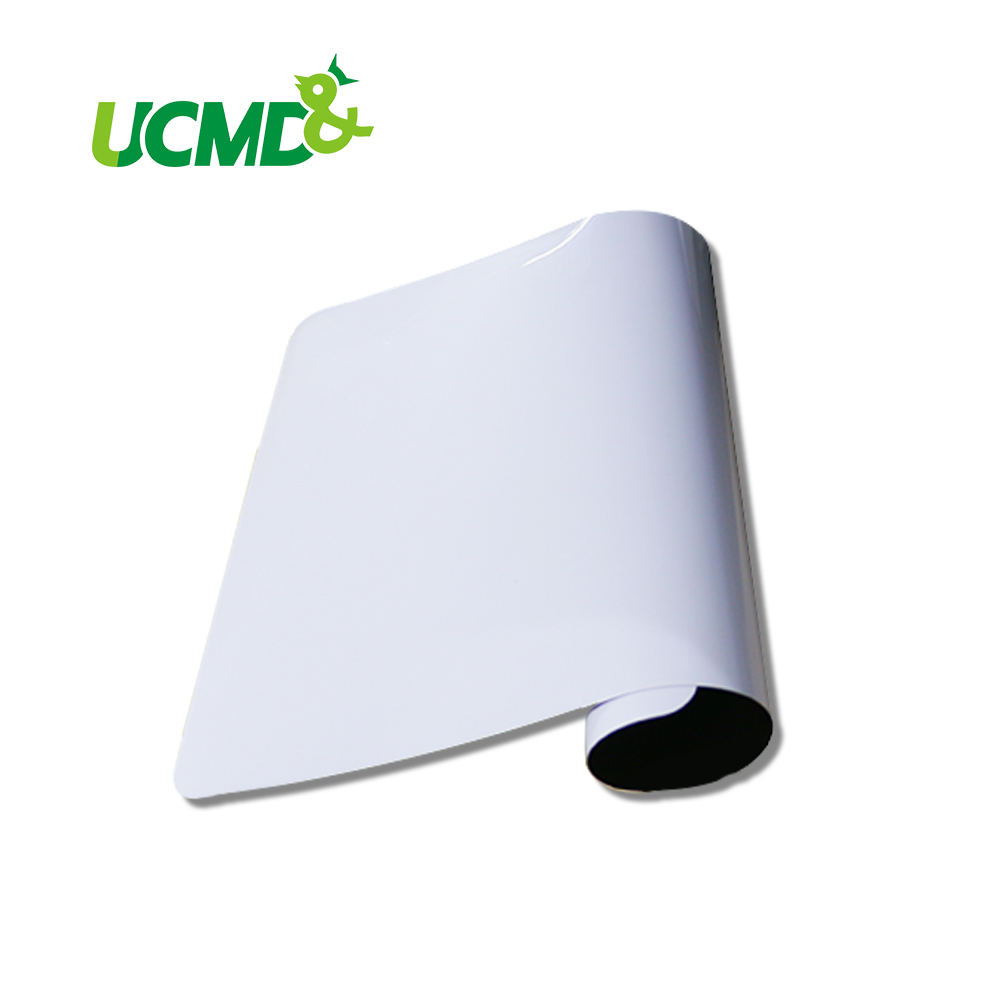 Magnetic Board Dry Erase Whiteboard A3 Size 0.5 mm thick for Kitchen Fridge Message Board Memos Notes