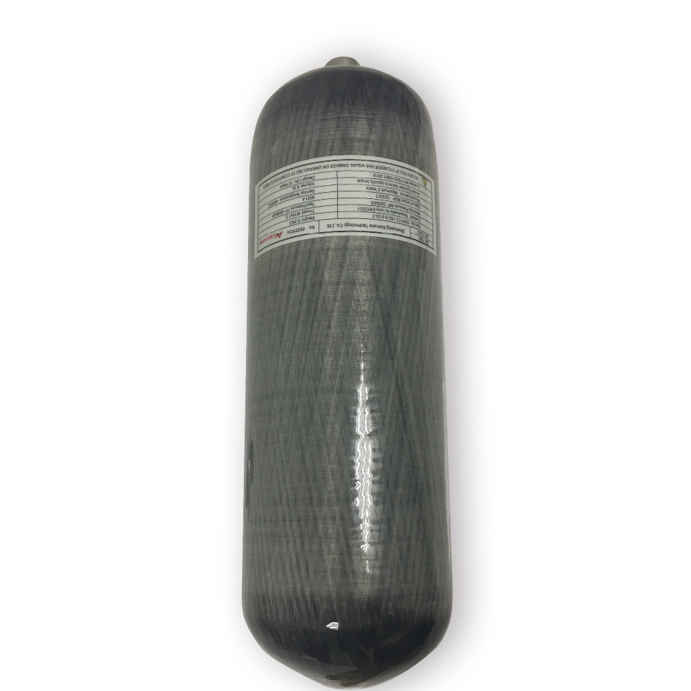 AC1090 China High Quality 9L Composite Scuba Tank,High Pressure Wrapped Carbon Diving Cylinder For Sale-V Drop Shipping
