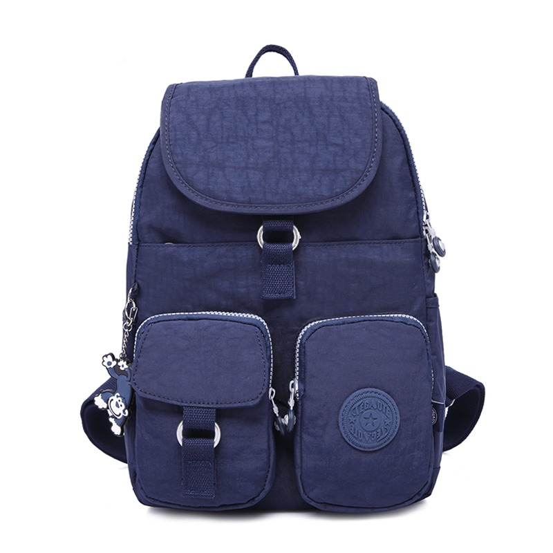 5cfbd4609092 TEGAOTE School Backpack for Teenage Girls Mochila Feminine Backpacks Women  Solid Famous Nylon Casual Laptop Bagpack