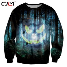 CJLM Man Best Selling Halloween Sweatshirt 3D Large Size 5XL Printed Forest  Pumpkin Men s Pullover Wholesale 39ab9a2be1d5