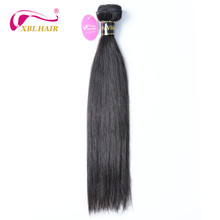 Brazilian Unprocessed Virgin Hair Straight Human Hair Bundles Weave Natural Color Can Be Dyed 8-30″ Free Shipping