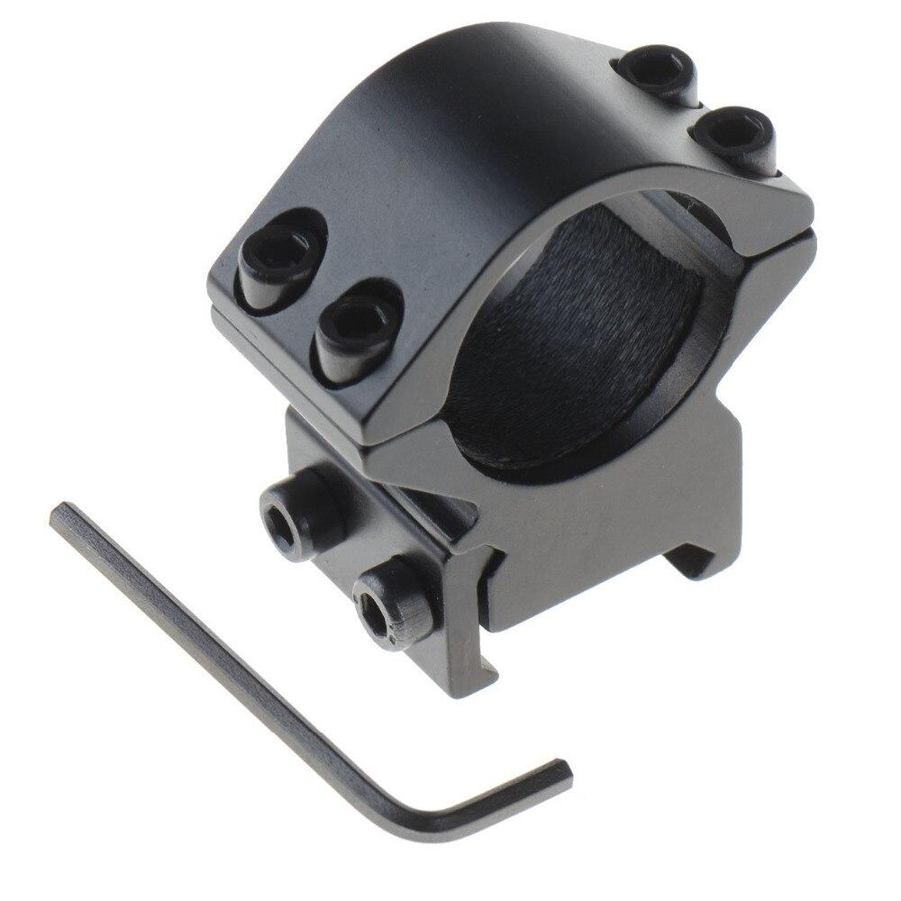 Hot 25.4mm Ring Weaver Picatinny 20mm Rail Mount Holder For Rifle Scope FlashlightHot 25.4mm Ring Weaver Picatinny 20mm Rail Mount Holder For Rifle Scope Flashlight