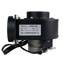 Small round power frequency centrifugal fan 76FLJ2 pipe centrifugal fan 220V 0.23A 25W mute Blower стоимость