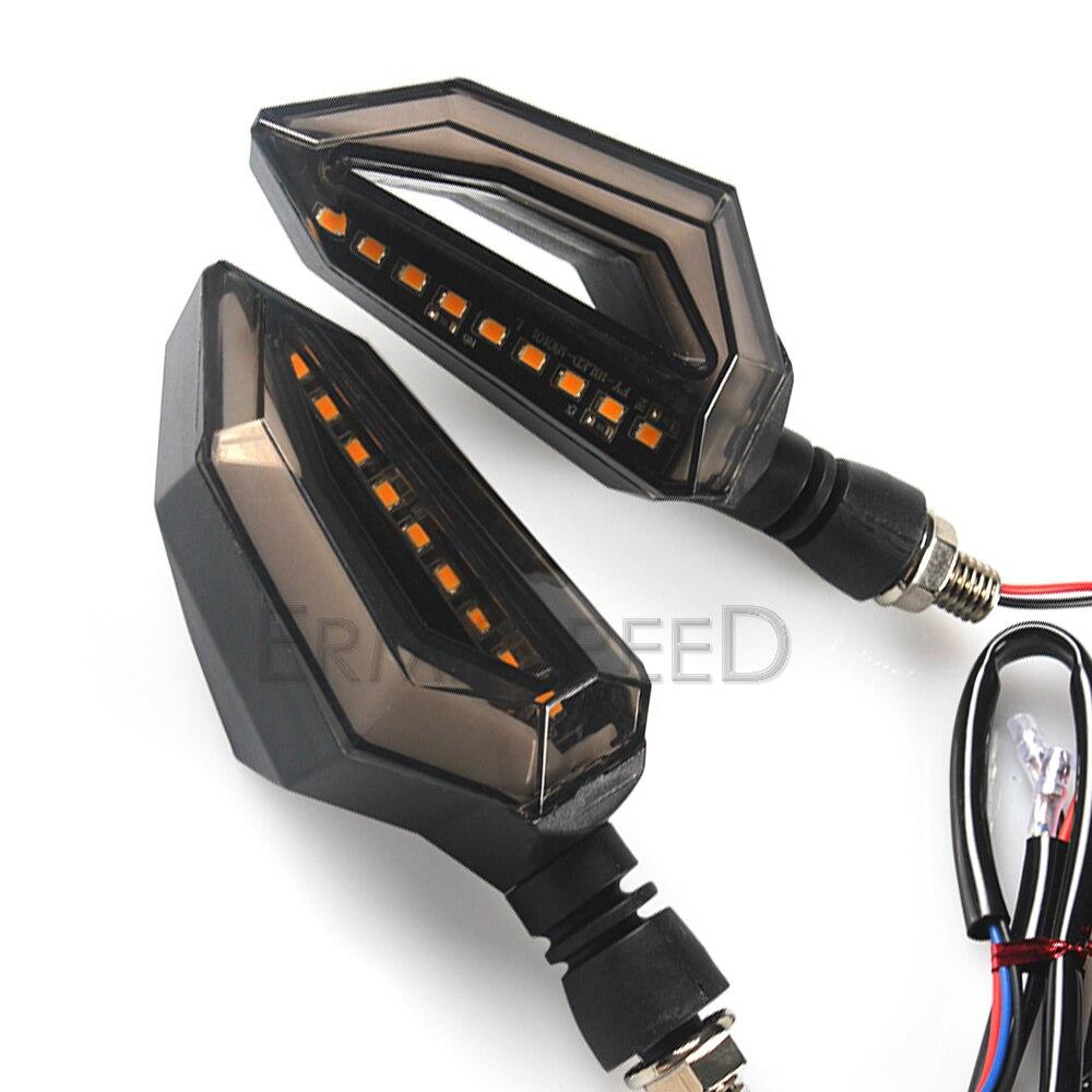 Motorcycle LED Turn Signal Lights (6)