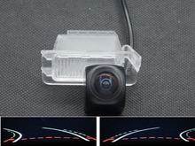 цены Trajectory Tracks 1080P Fisheye Lens Car Rear view Camera for Ford Mondeo 2001 2002 2003 2004 2005 2006 2007 2008 2009 2010