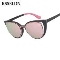 Fashion Luxury Brand Designer Cat Eye Sunglasses Women Vintage Cateye Gradient Sunglass Female Retro Sun Glasses