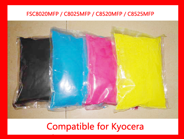 все цены на  Free shipping refill color toner powder compatible for kyocera FSC8020MFP / C8025MFP / C8520MFP / C8525MFP high quality (David Z  онлайн