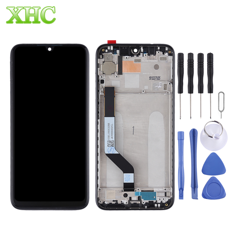 for Xiaomi Redmi Note 7 LCD Screen Digitizer Full Assembly with Frame Replacement for Xiaomi Redmi Note 7 Pro Mobile Phone