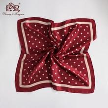 купить 2019 Women Silk Bandana Satin Square Women Scarf Foulard Femme Handkerchief Elegant Head Scarf For Women Shawls Hihab Scarf дешево
