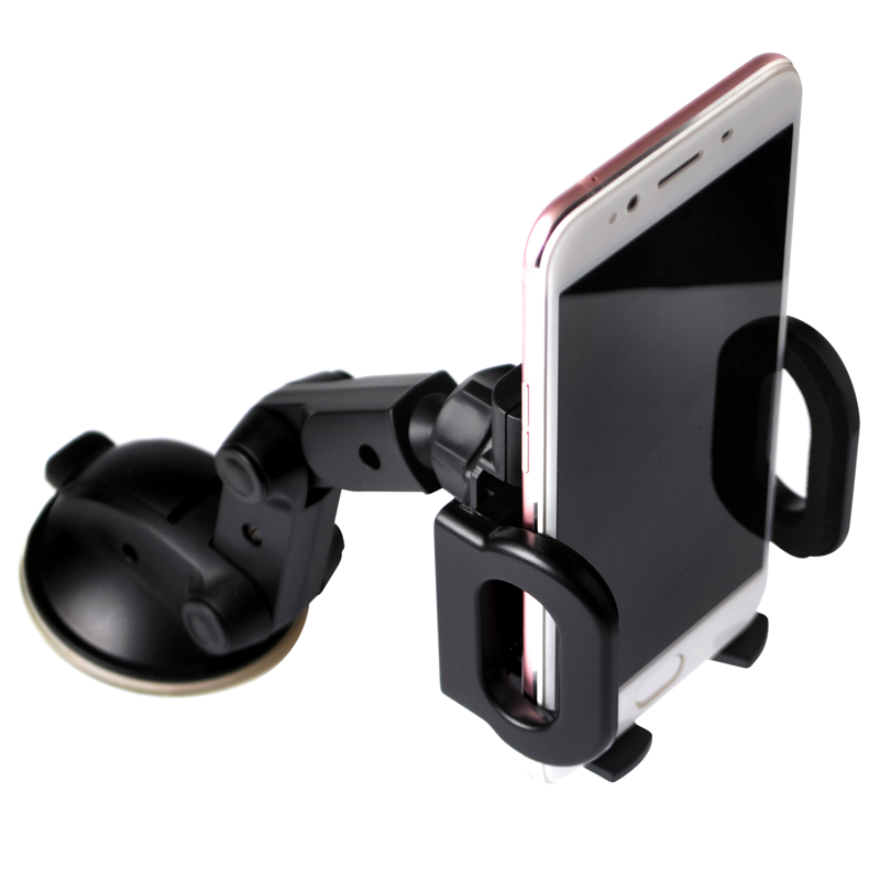 Image 2 - Universal 360 Degree Rotating Car styling Mobile Phone Holder Windshield Suction Cup For IPhone 5s 6s 7 Plus Phones GPS-in Universal Car Bracket from Automobiles & Motorcycles