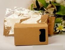 Hot selling DIY Magnet Google Cardboard Virtual Reality VR Mobile Phone 3D Viewing Glasses For 5.0″ Screen Google VR 3D Glasses