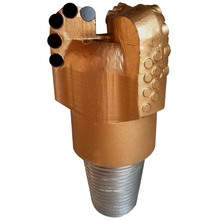 122mm Steel body PDC bit for water well drilling