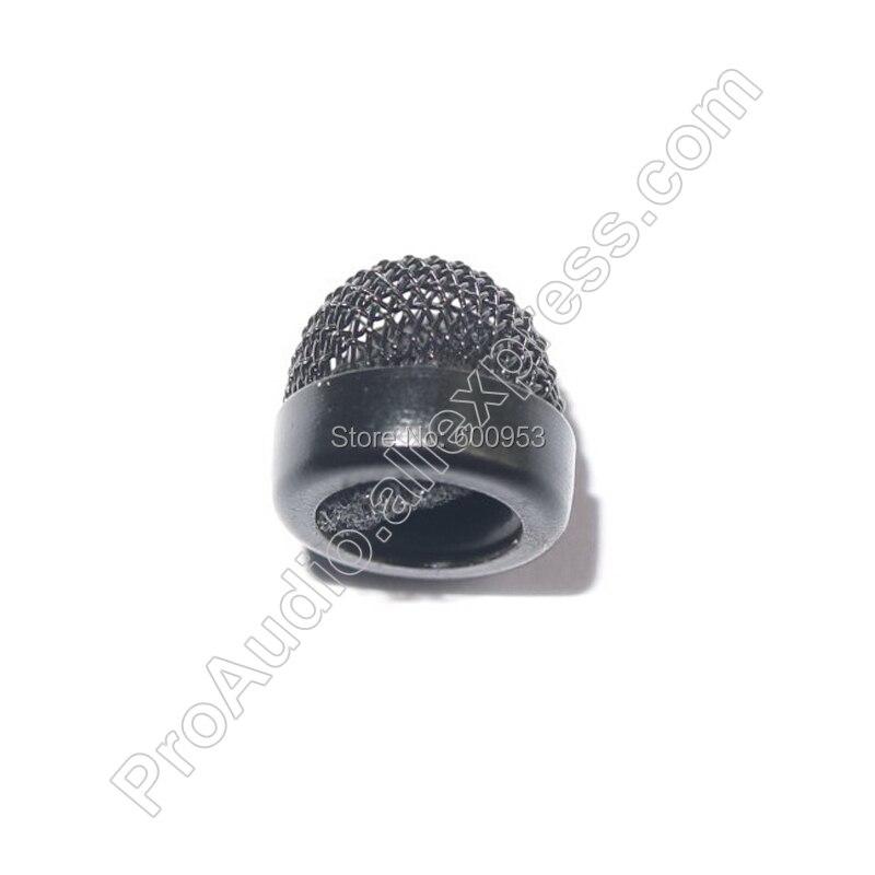 Chapeau noir de remplacement métallique pour capuchon de pare-brise pour Sennheiser ME2 Lavalier micro-cravate