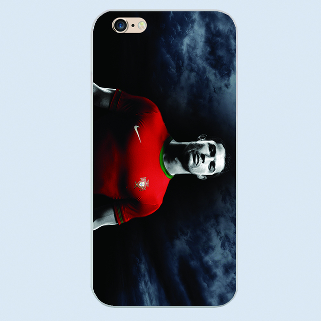 New arrival Football Superstar CF Cristiano Ronaldo Durable Hard Plastic cover phone case for Apple iPhone 4S 5 5S 5c 6 6S Plus