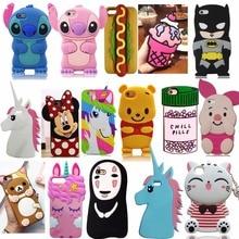 3D Cartoon Ice Cream Stitch Cat Soft Silicone Back Cover Shell For iPhone 4/4s/5/5S/5C/SE/6/6S/6 plus/6s Plus Phone Cases Fundas стоимость