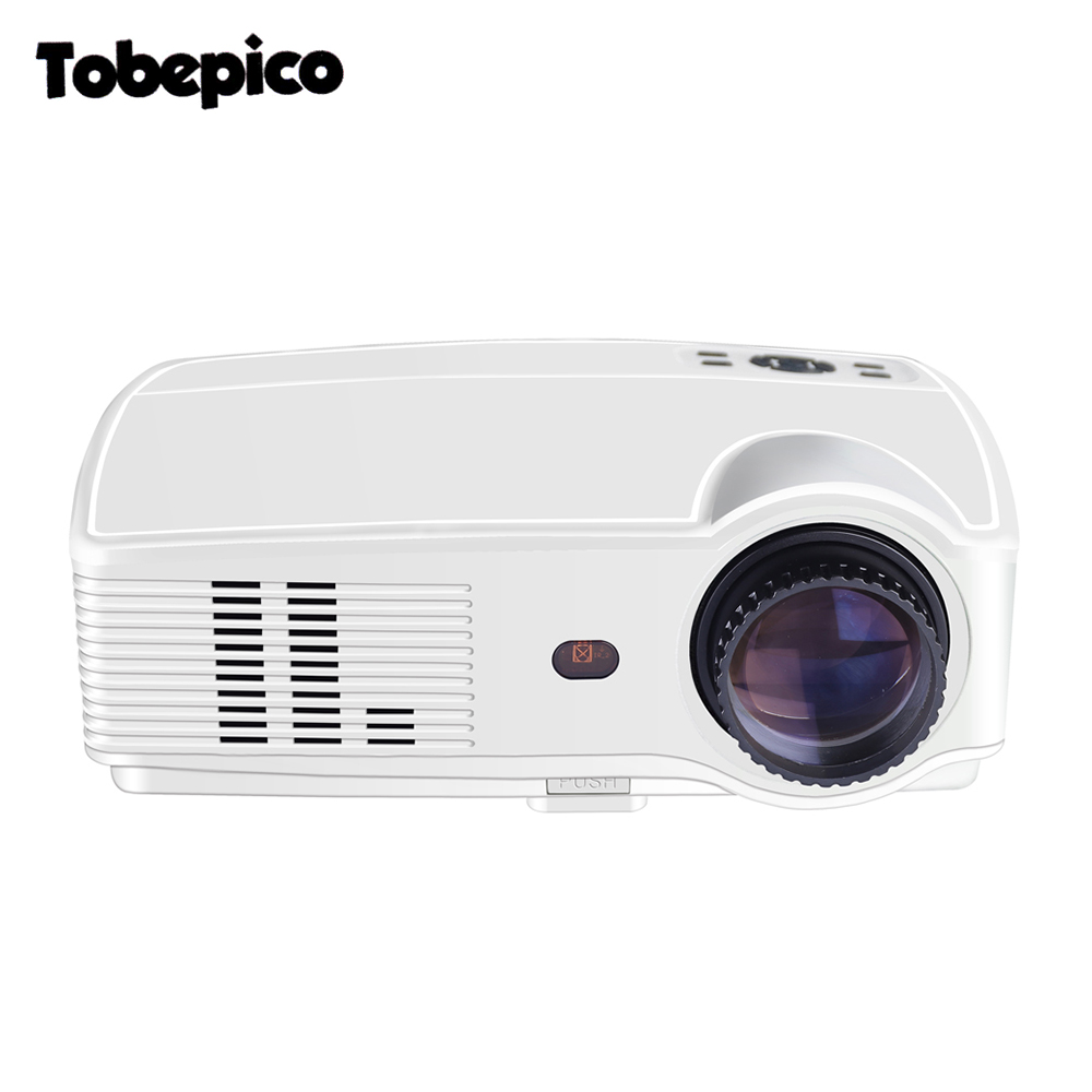 Led projector 3500lumens full hd led home cinema tv for Hd video projector