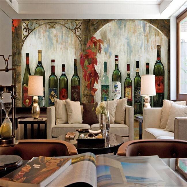 vino tinto envo gratis bodega gran barra mural restaurante occidental cafetera papel tapiz de fondo
