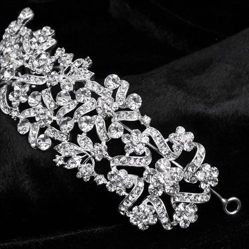 Bridal Crowns Hairband Vintage Crystal Wedding Tiara Hair Accessories Wedding Hair Accessories
