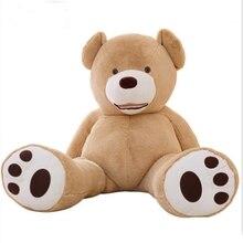 NEW 200cm Giant CuteTeddy Bear(No filler) Plush Toys Soft Teddy Bear Skin Popular Birthday & Valentine's Gifts For  Kid's Toys
