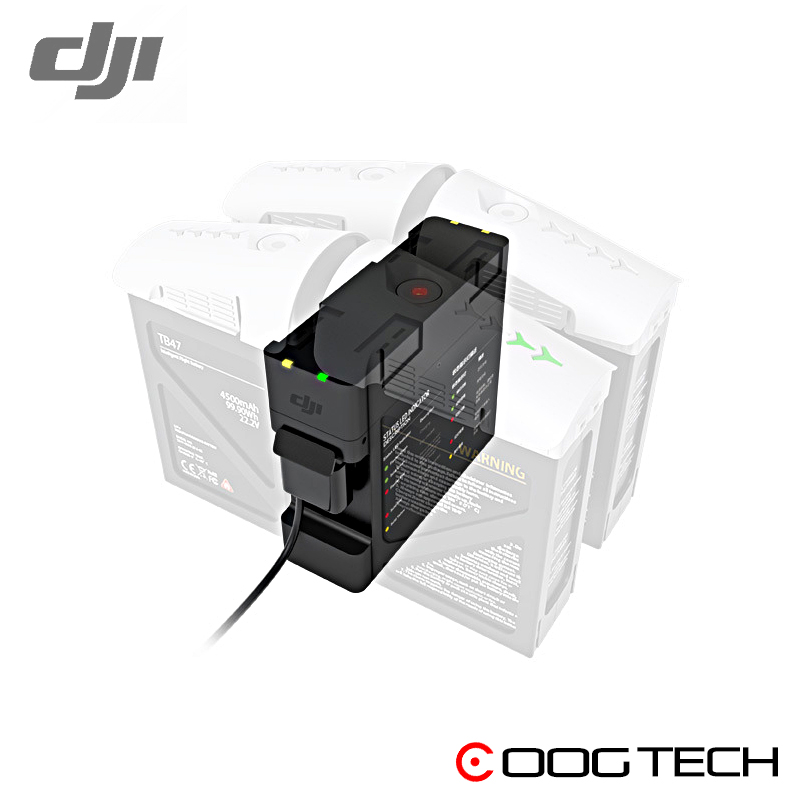 DJI Battery Charging Hub for DJI Inspire 1 TB47/TB48 Smart Battery Newly Coming Original spare Parts dji inspire 1 v2 0